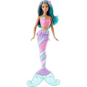 Barbie - Sereias Reinos Mágicos - Barbie Mermaid Candy Fashion R$20