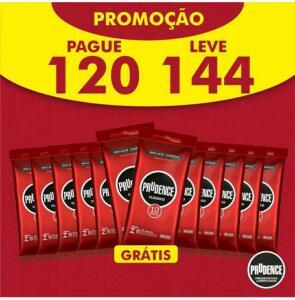 Preservativo Prudence Clássico 144 unidades - R$70