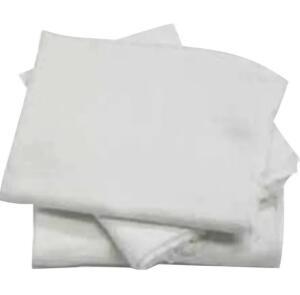 10 Sacos Alvejados Pano Chão Branco Limpeza | R$9