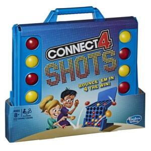 Jogo Connect 4 Shots Hasbro | R$40