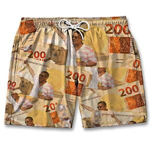 Short Masculino Bermuda Verão Praia Várias Cores | R$ 63
