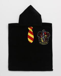 Toalha de Banho Poncho Capuz Gryffindor Harry Potter | R$40