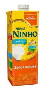 Leite Semidesnatado Ninho Zero Lactose Caixa 12 Un. 1l | R$ 35