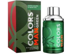 Perfume Benetton Colors Man Green 100ml   R$66