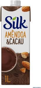 Bebida Vegetal Amendôa e Cacau Silk 1L | R$10