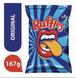 Batata Frita Original Elma Chips Ruffles 167g | R$6