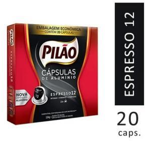 Cápsulas Café Pilão Espresso 12 20un | R$30