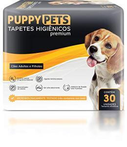 [PRIME] Tapetes Higiênicos Premium Puppypets 60x80 30un | R$ 34
