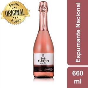 Espumante San Martin Moscatel Rose 660ml   R$17