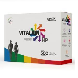 VITALION HP HIGH POWER 500 COMPRIMIDOS SIDNEY OLIVEIRA (FAMÍLIA) | R$40