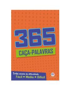 365 CAÇA PALAVRAS | R$9