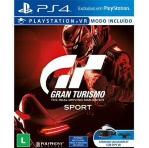 Gran Turismo Sport - PS4 - R$25
