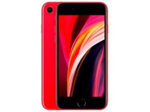 "iPhone SE Apple 64GB 4,7"" 12MP iOS | Cores: Vermelha e Branca - R$2549"
