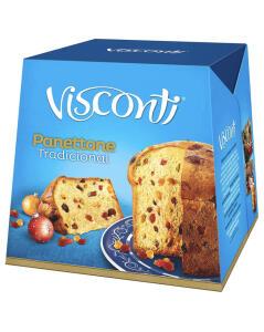 Panettone Frutas Cristalizadas 400g - Visconti R$8