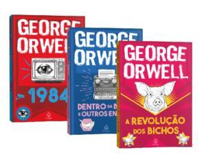 Kit de 3 Livros   George Orwell   R$24