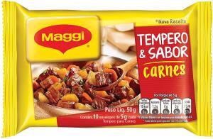 [PRIME] Maggi, Tempero & Sabor, Carnes, 50g   R$1,77   mínimo 5 unidades
