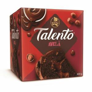 Panttone de Avelã Talento Garoto - 400g   R$10