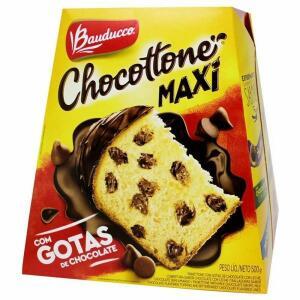 Chocottone Maxi Chocolate Bauducco - 500g | R$ 10