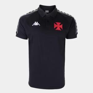 Camisa polo Vasco viagem 20/21 Kappa masculina | R$ 135