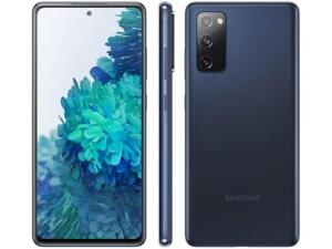 "(APP + CLIENTE OURO) Smartphone Samsung Galaxy S20 FE 128GB Cloud Navy - 6GB RAM Tela 6,5"" - R$2619"