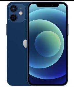 "iPhone 12 Mini Apple 128GB Azul 5,4"" - R$5165"