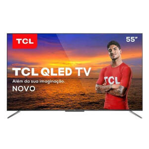 "Smart TV TCL QLED Ultra HD 4K 55"" Android QL55C715   R$2.929"