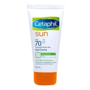 Protetor Solar Facial Cetaphil Sun FPS70 Ultra Matte 50ml | R$35