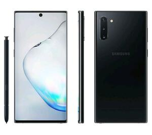 "(Cliente Ouro) Samsung Galaxy Note 10 256GB Preto 4G - 8GB RAM 6,3"" Câm. Tripla + Câm. Selfie 10MP R$2399"