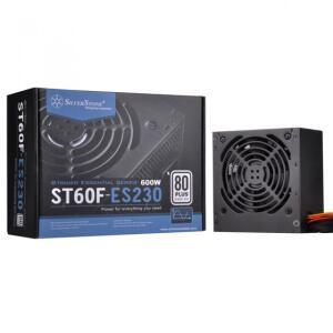 Fonte SilverStone SST-ST60F-ES230, 600W, 80 Plus, PFC Ativo ( 220V) | R$338