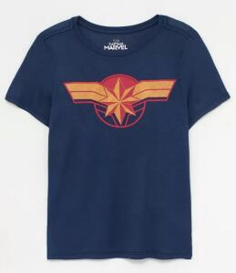 Blusa Feminina - Capitã Marvel | R$20