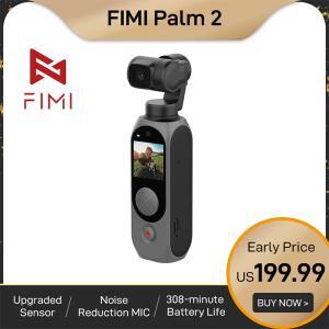 Cãmera Fimi palm 2 cardan 4k | R$ 1162