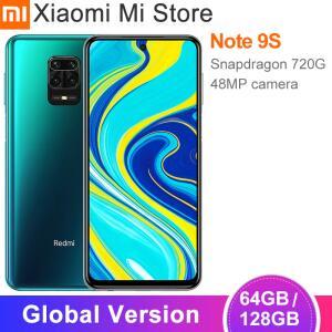 "Xiaomi redmi note 9s 4gb 64gb/6gb 128gb Versão Global 48mp câmera 6.67"" | R$ 1051"