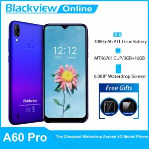 Blackview a60 pro mtk6761 quad core 3gb 16gb | R$510
