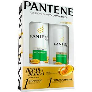 [APP] Kit Pantene Shampoo + Condicionador - 2 Unidades | R$20