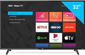 [APP] Smart TV AOC Roku LED 32''   R$972