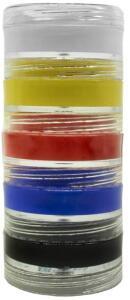 Tinta Cremosa de Pele Kit 5 Cores, Colormake | R$ 5,59
