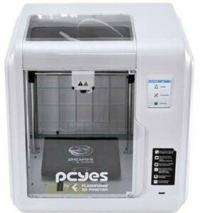 Impressora 3D Wi-Fi | Pcyes Faber S | FlashForge | Bivolt | Câmera monitoramento | 405x388x340 | R$2936