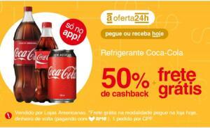 [APP] AME com 50% Coca-Cola