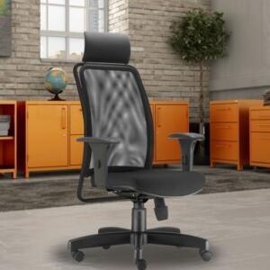 Cadeira de Escritório Giratória Presidente Soul L02 | R$989