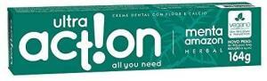 [PRIME] Creme Dental, Menta Amazon, 164 g, Ultra Action | R$3,77