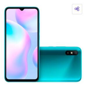 Smartphone Xiaomi Redmi 9A Verde 32GB | R$902