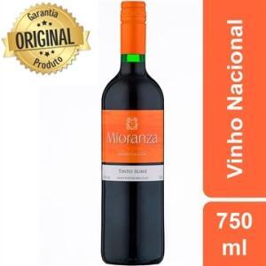 Vinho Tinto Nacional Blend Mioranza Suave 750ml R$12