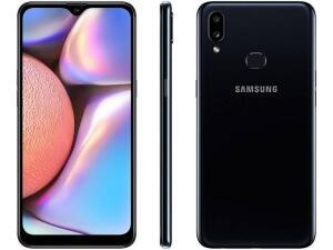 "[App+ Cliente Ouro] Samsung Galaxy A10s 32GB Preto - 4G 2GB RAM 6,2"" Câm. Dupla + Selfie 8MP R$791"