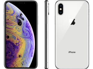 "[ App + cliente Ouro ] iPhone XS Max Apple 64GB Prateado - 6,5"" - R$4491"