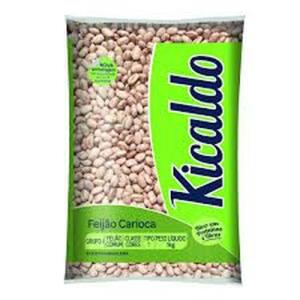 FEIJAO CARIOCA TIPO 1 KICALDO 1KG - R$25