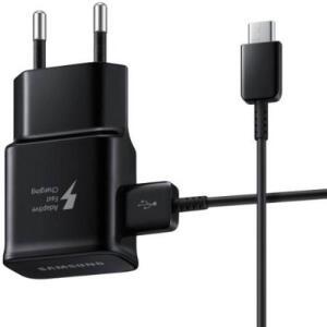 [APP] Samsung Carregador de Viagem - Tipo C 15W (EP-TA20BBBCGBR) | R$49
