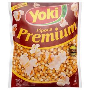 [5 Un - Recorrência] Pipoca Premium Yoki 500g R$7,55   R$8