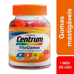 Centrum VitaGomas Mix de Frutas 30 Gomas Mast - R$20