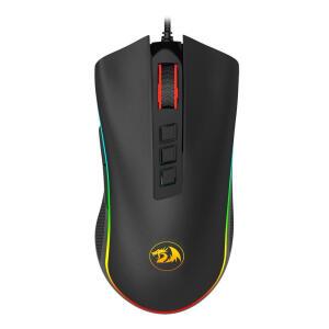 Mouse Redragon Cobra M711 black - R$120