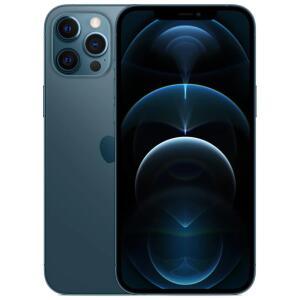 "iPhone 12 Pro Max Apple 128GB Azul-Pacífico e Prateado Tela de 6,7"" R$8799"